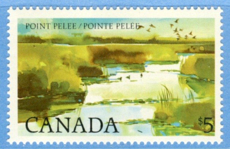 CANADA 1983 M862** Point Pelee nationalpark 1 kpl