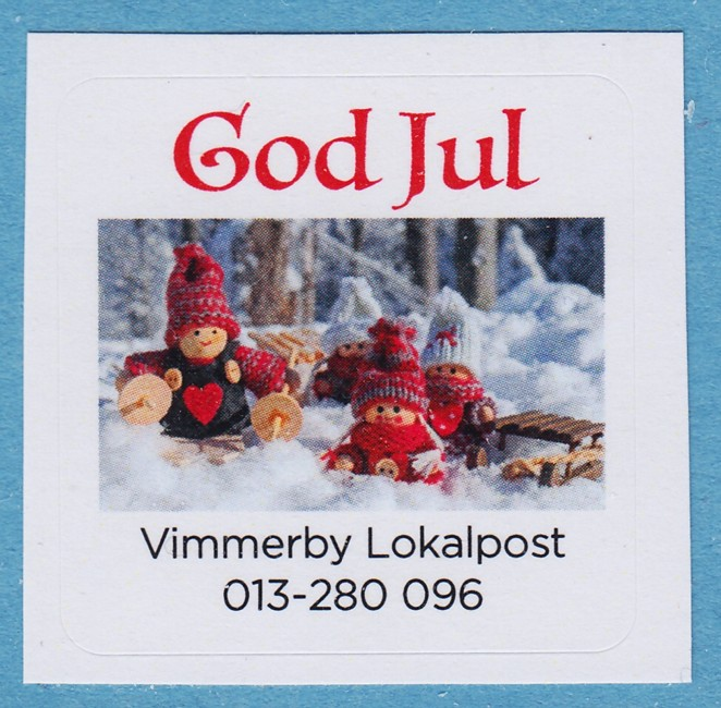 Lokalpost VIMMERBY Nr 5 2019 God Jul