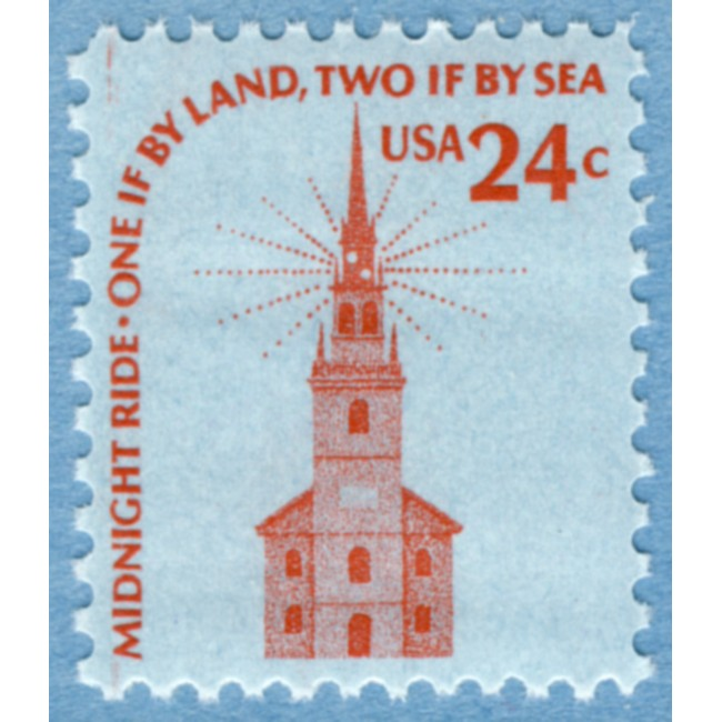 USA 1975 M1193** Old north church, Boston 1 kpl