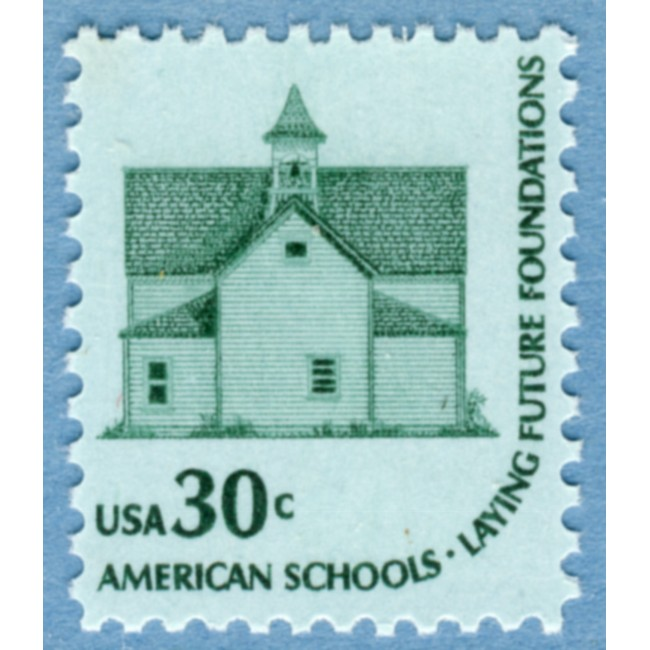 USA 1979 M1394** Morris Township School No 2, Devis Lake 1 kpl