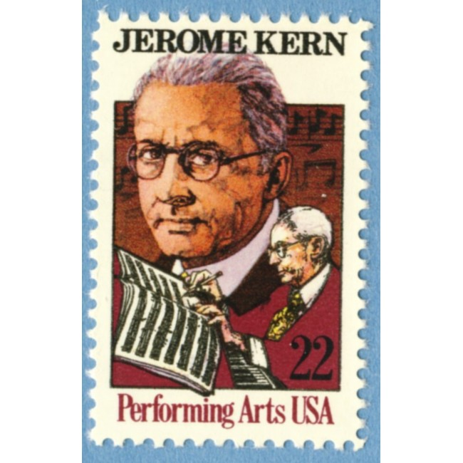 USA 1985 M1720** Jerome Kern - kompositör 1 kpl
