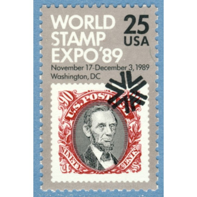 USA 1989 M2036** World Stamp Expo´89 1 kpl