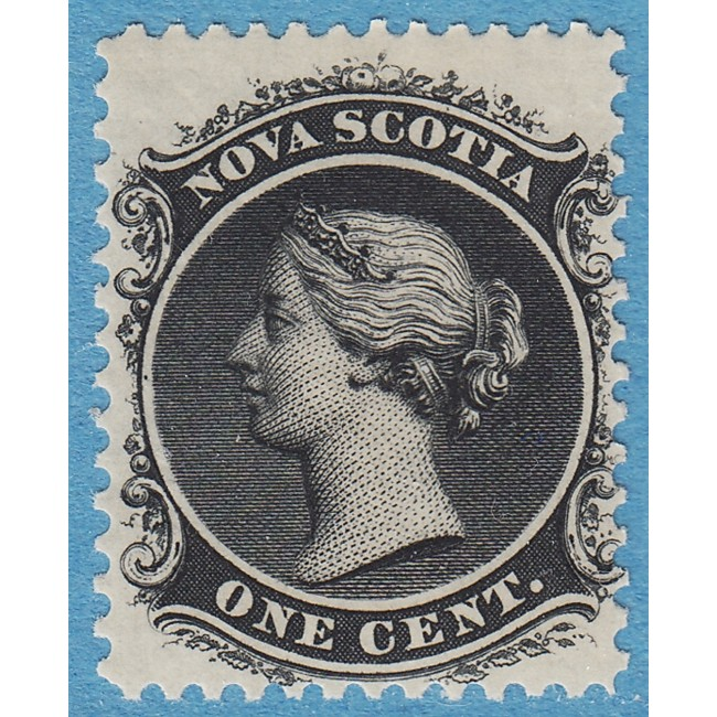 NOVA SCOTIA 1860-63 M5**  one cent (OB21)